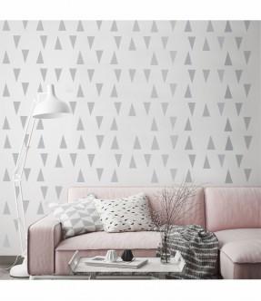 Sablon geometric triunghiuri