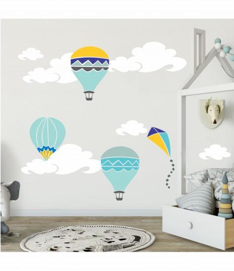 Set sabloane baloane, zmeu, norisori
