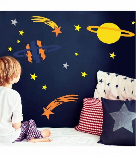Set sabloane comete, planete, stelute