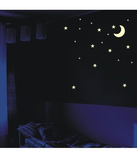 Set sabloane luna si stelute