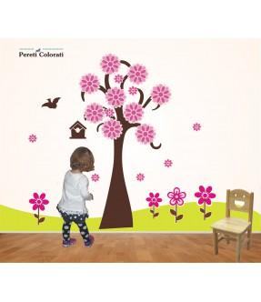 """Set stickere """"Copacul cu flori"""""""
