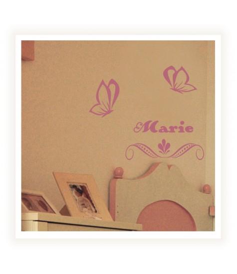 Sablon fluturasi Marie